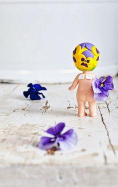 Sonny Angel, spring, Minty House, purple