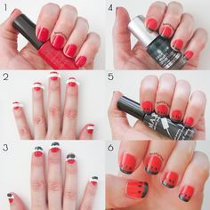 How To Make Cute Watermelon Nail Art For Beginners Quick Summer