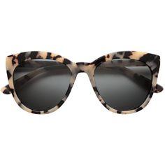 Polariserade solglasögon 399 ($40) ❤ liked on Polyvore featuring accessories, eyewear, sunglasses, lunettes, glass sunglasses and glass glasses