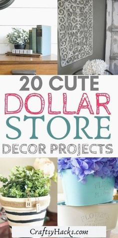 Voulez dollar tree ferme décor à la maison, essayez ces dollar tree idées et d'améliorer la conception de votre maison sur un petit budget. Diy Home Decor Rustic, Farmhouse Bedroom Decor, Rustic Crafts, Decor Diy, Modern Decor, Dollar Tree Decor, Dollar Tree Crafts, Dollar Store Hacks, Dollar Stores