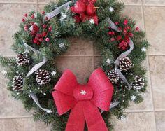 Bells Wreath by CABStuffandThings on Etsy