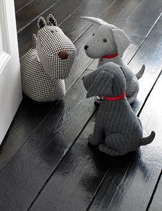 Benjamin Sitting Dog Doorstop