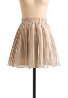 Classic Glimmer Skirt Modcloth $54.99