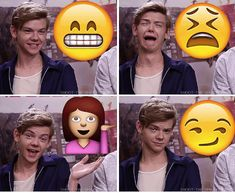 Thomas Brodie-Sangster- Emoji Battle
