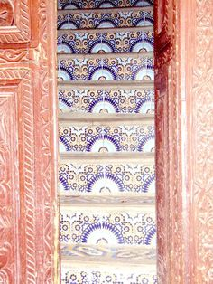 I am enamored with the intricacy of Moroccan design