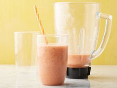 Orange Banana Smoothie Recipe : Ina Garten : Food Network - So quick and easy!  No yogurt either, so less fat & calories.
