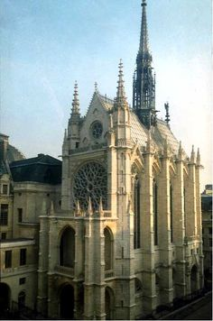 Sainte-Chapelle, Paris, France, ca. 1243-48
