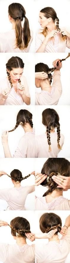 pretzel braid hairstyle