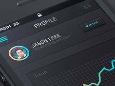 Dribbble - New IOS App design by Julien Renvoye