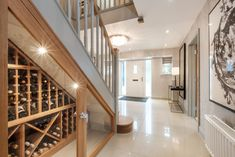 Duchy Homes is an award-winning house builder building luxury homes in premium locations with high quality specifications for modern living and exclusivity Wine Cabinets, Under Stairs, Wine Storage, Home Builders, Storage Solutions, Home Remodeling, Luxury Homes, Awards, Exterior