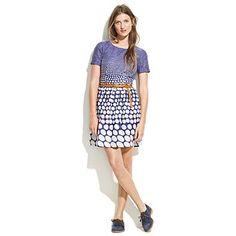 dotted songbird dress. Love the shape.