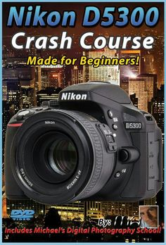 Nikon Crash Course Training Tutorial DVD Made for Beginners for sale online Lens For Landscape Photography, Hobby Photography, Digital Photography School, Photography Lessons, Photography Camera, Photography Tutorials, Photography Business, Vintage Photography, Love Photography