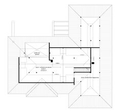 Willa parterowa on Behance 3 Bedroom House, Closet Bedroom, Beautiful House Plans, Beautiful Homes, House Design Pictures, My House Plans, French Country House Plans, My Dream Home, Tiny House