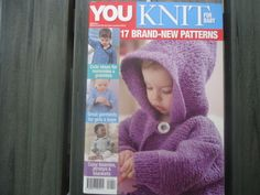 Baby Knitting, Cosy, Magazines, Crochet Hats, Beanie, Brand New, Pattern, Journals, Knitting Hats