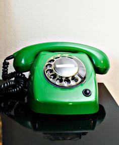 Wow...a green phone...