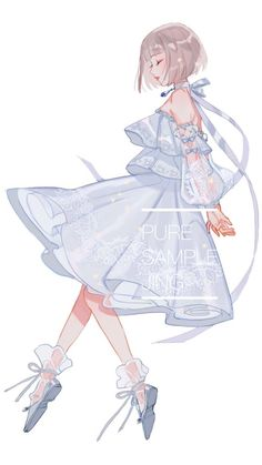 Ideas Fashion Girl Anime Inspiration For 2020 Anime Chibi, Kawaii Anime, Anime Angel, Manga Drawing, Manga Art, Wie Zeichnet Man Manga, Beautiful Anime Girl, Anime Art Girl, Anime Girls