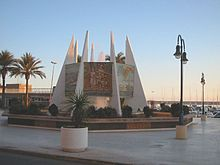 Alicante Torrevieja - Torrevieja: monumento a las Habaneras, en el puerto
