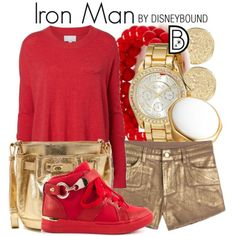 Iron Man by Disney Bound