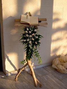 ευχολόγιο με  θαλασσόξυλα. Δεξίωση | Στολισμός Γάμου | Στολισμός Εκκλησίας | Διακόσμηση Βάπτισης | Στολισμός Βάπτισης | Γάμος σε Νησί - στην Παραλία.
