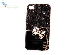 black hello kitty iphone case
