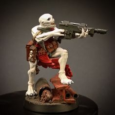 Underhive mutant. Credit to the maker. I will be making some of these.