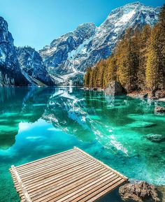 Pragser Wildsee lake in Italy (Photo by Enrico Veronese)   Nature & Landscapes of Europe