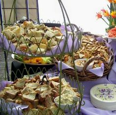 Catering Buffet Table Setup | Girls Catering, Boise, Idaho (ID) - Catering Service, Boise, Wedding ...