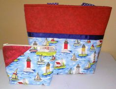 Ready to ship Ocean print totebag and FREE by DesignsbyCristal