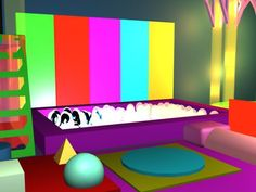 sensory room layout