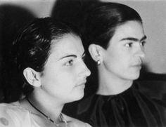 Frida and Christina Kahlo   1926