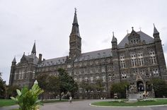 Georgetown University in Washington, DC. Founded in 1789, Georgetown is America's oldest Catholic university.