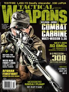 Tactical Weapons March 2014 issue goes onsale Jan 28th