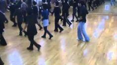 tennessee waltz line dance walkthrough - YouTube