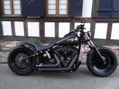 Harley-Davidson Night Train Sonstige in Schwarz als Gebrauchtwagen in Bornheim für € 19.780,- #harleydavidsonsoftailfatboy