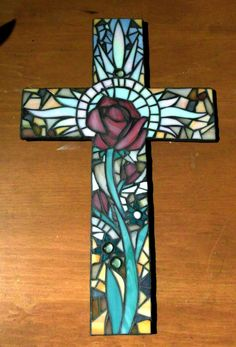 Have your own 14x17 inch wall cross created using your chosen colors. You can also suggest a style, design or pattern or leave it to my discretion.