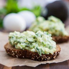 Eclectic Recipes » Avocado Egg Salad