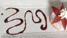 una splendida cheesecake di fragole! our best cheesecake