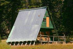 A-frame houses