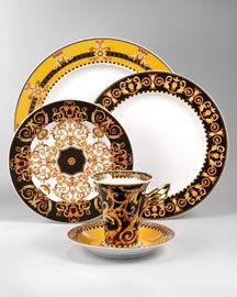 Versace Barocco Dinnerware