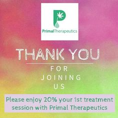 If you go to our website www.primaltherapeutics.co and sign up for our newsletter you will receive 20% your first treatment! <3  #thankyou #cannabismassage #marijuanamassage #ganjassage #news #therapeutic #thankyou #gratitude #highlife #denver #colorado #freedom #plantmedicine #fueledbythc #savings  #primaltherapeutics #wellness #wellbeing #tuesday #topicals #topicaltuesday #savemoney