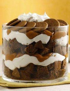 Holiday Pumpkin-Gingerbread Trifle