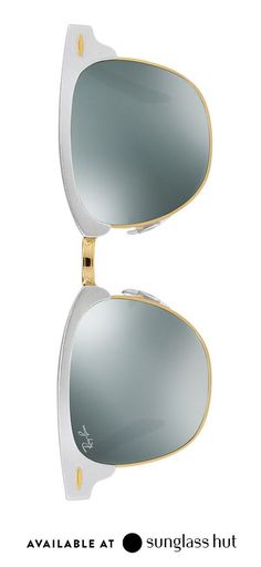 3583bff5dc Metallic Ray-Ban sunglasses make a great gift for friends
