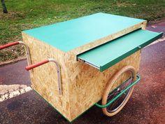 Carrinho simples mas funcional! olebikes foodcart cart