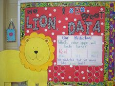 """Make a """"Data"""" bulletin board for Glyph, Tally and other types of graph projects! Okay, I like the catch phrase."""