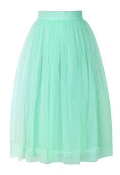Minty tulle