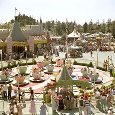 Celebrate 60 years of Disneyland by comparing photos from the beginning to present day.