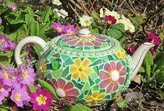 Primrose Teapot - Mosaic | Flickr - Photo Sharing!