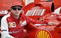 Ferrari Formula One driver Kimi Raikkonen was one of the star faces at the 2014 Goodwood Festival of Speed on Sunday Picture: MAX EAREY Sunday Pictures, Goodwood Festival Of Speed, Ferrari F1, Scarf Shirt, F1 Drivers, Formula One, Laptop Sleeves, Motorcycle Jacket, Classic T Shirts