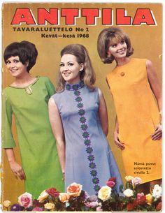 Anttilan tavaraluettelo vuodelta 1968.