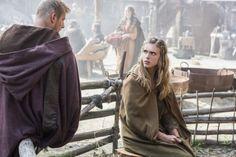 the vikings bjorn's girlfriend season 2 | Vikings' Season 2 Interview: Gaia Weiss Introduces Porunn, Talks ...